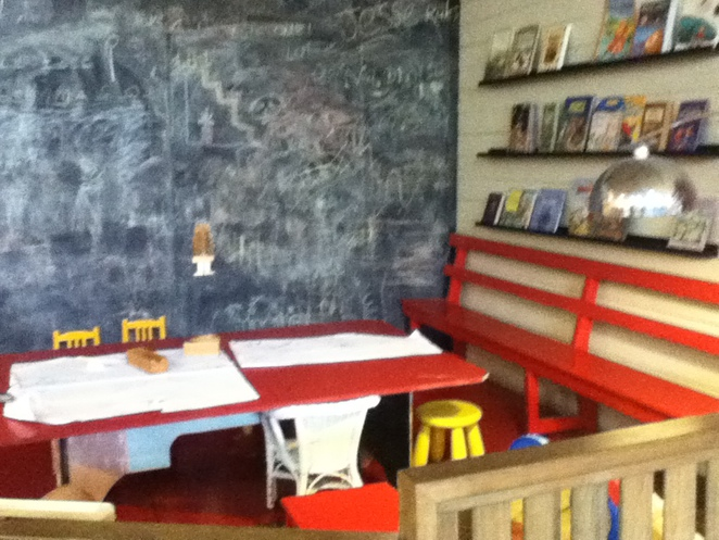 play room, blackboard, cafe, Boonah, The Story Tree