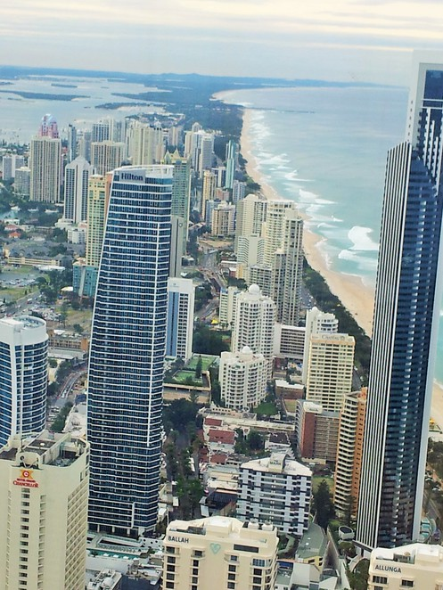 Q1, Skypoint, level 77, Observation deck, Surfers Paradise, gold coast, view, 360, panorama, panoramic, bar, cafe, snacks, family,