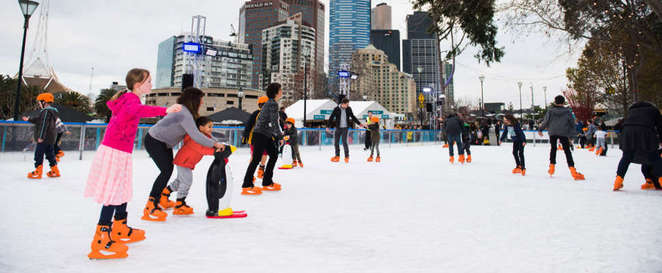 River Rink inFederation Square