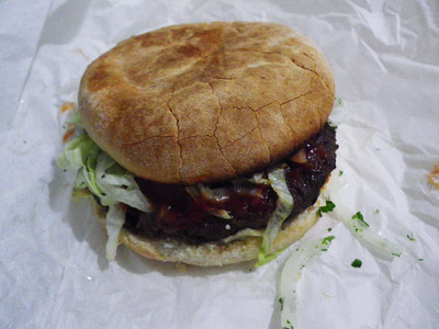 snag in a bag beef burger