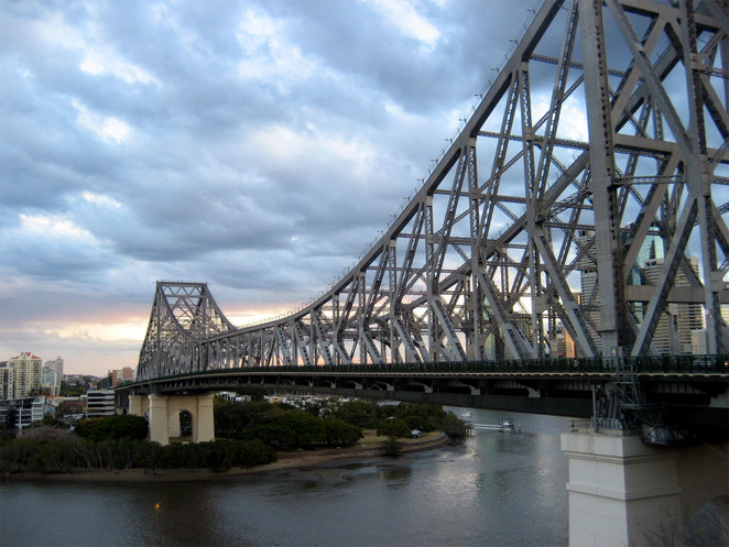 The Story Bridge is a defining feature of Brisbane
