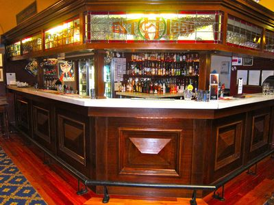 The bar at the Carrington Hotel Lounge