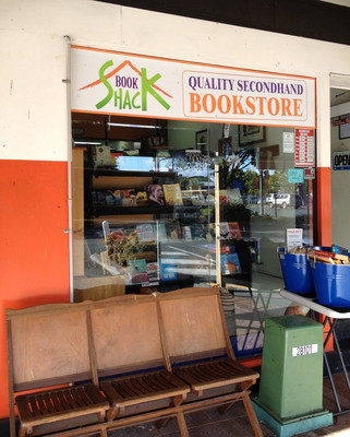 The Book Shack, Shorncliffe, Sandgate, books, reading list, fair trade, used books, bookstore, recycle