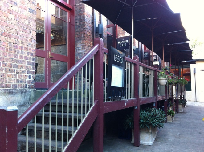 The Vintage Cafe outside Seating