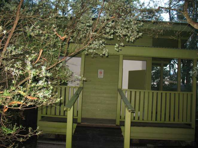 Toilets at campsite 3