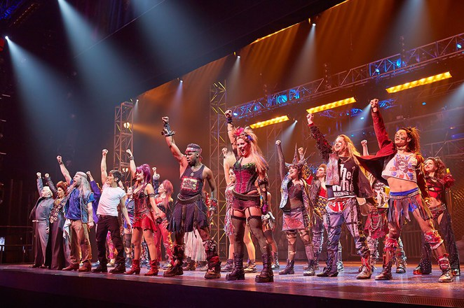 we will rock you Performing sydney lyric theatre