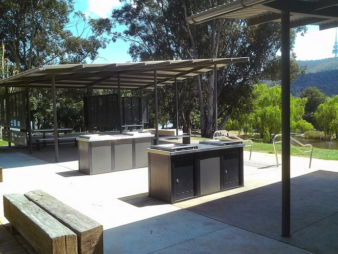 weston park, bbq areas, lake burley griffin, canberra, telstra tower, ACT, best BBQ spots, picnic areas, views, birthday parties, large bbq areas, canberra city,