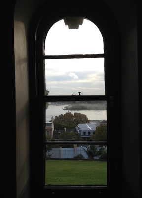 View from a window of the observation deck, Sydney Observatory
