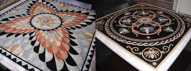 Zenobia mosaic tables, North Strathfield
