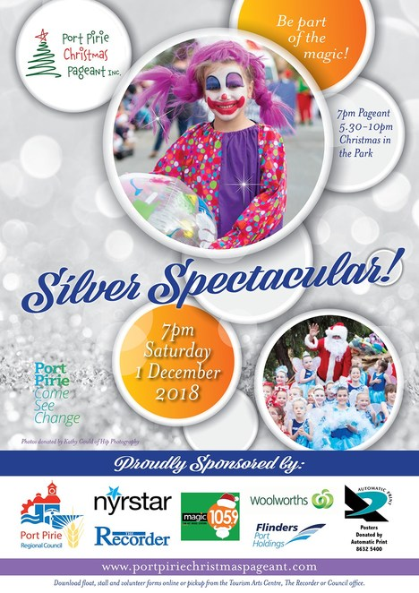 2018 port pirie christmas pageant, community event, fun things to do, festive season, christmas in the park, santa clause, christmas carols, christmas parade