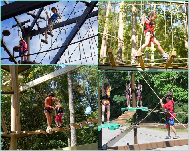 a maze n things, phillip island, tourist attraction, ropes course, skytrail