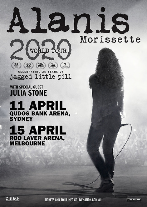 Alanis Morissette, Alanis, Jagged Little Pill, Jagged Little Pill the musical, Julia Stone, Alanis live in Sydney, article by Jade Jackson