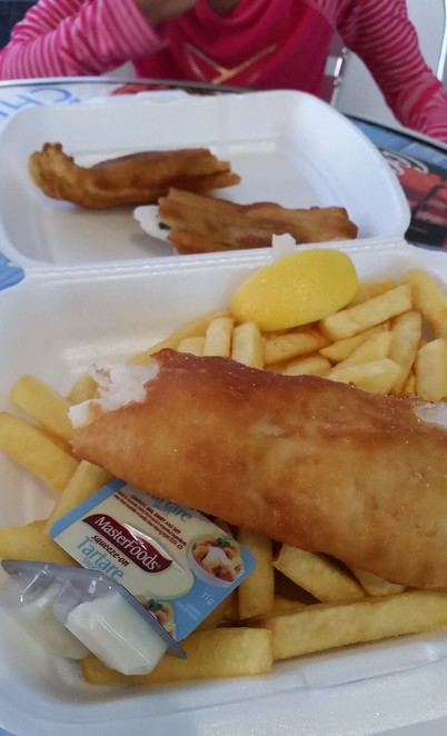 beach, seafood, West Beach, Adelaide, fish and chips