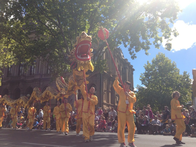 Bendigo Easter Parade