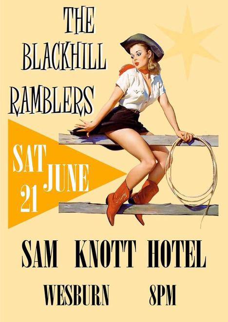 black hill ramblers, sam knott hotel, wesburn, rockabilly, victoria, music, dancing,event