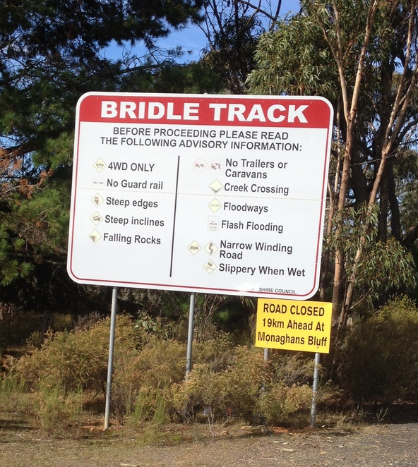 Bridle Track Turon River Hill End