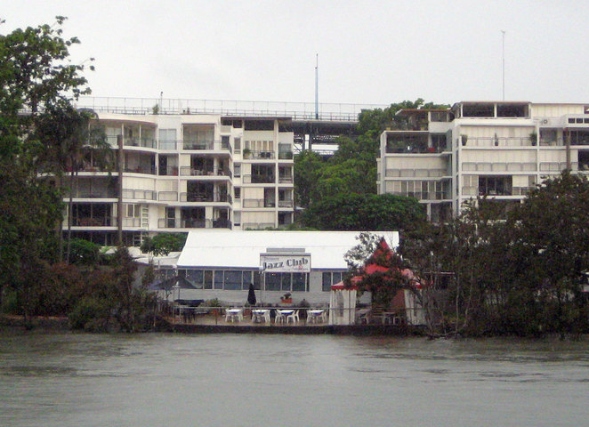 Brisbane Jazz Club is in an unassuming building by the Brisbane River at Kangaroo Point