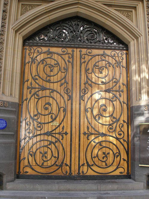 Can you guess which building these doors belong to in Melbourne's CBD?
