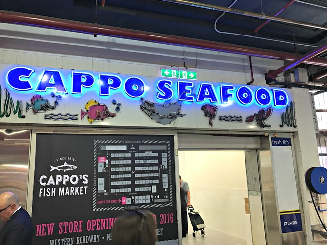Cappos, Seafood, Christmas, Central Market