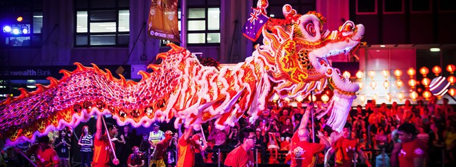 Chinese New Year Twilight Parade