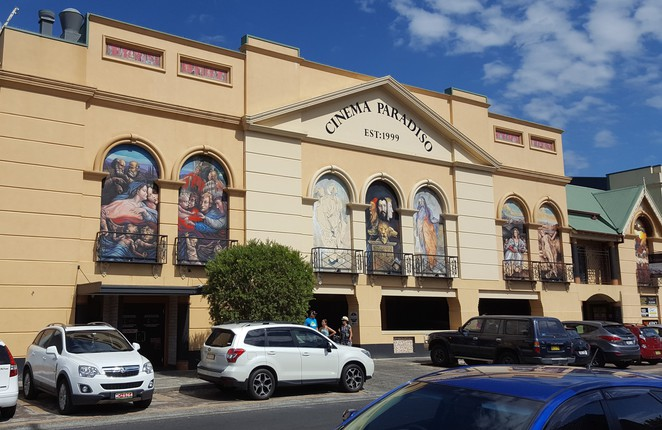 Cinema Paradiso, Ettalong, Cinema, Independent Cinema, movies, tourist attraction, beachside cinema, Central Coast attractions, movies, cheap movie tickets, Mediterranean villa