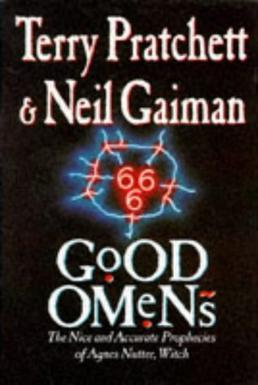 cover, book, good omens
