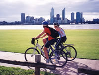 Cycling in Perth