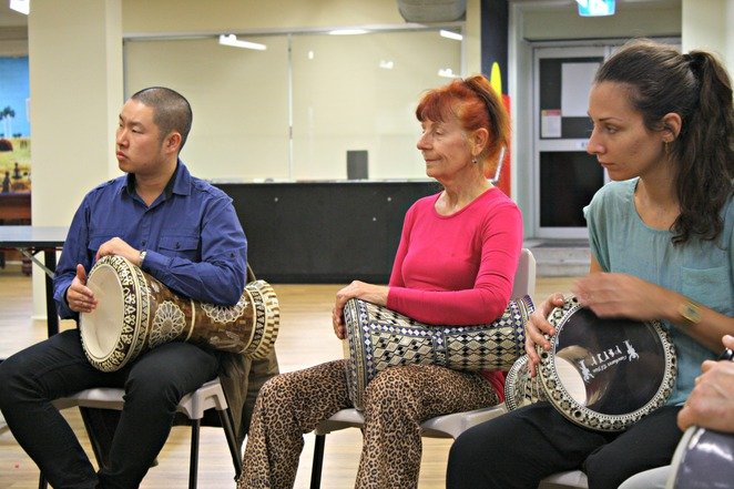 drumming, darbuka, marrickville