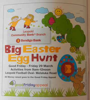 Big Easter Egg Hunt In Leopold 2013