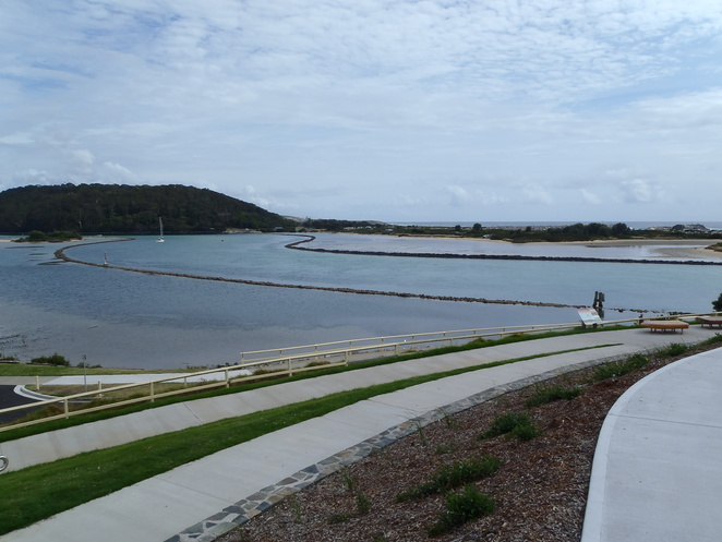 Edwin Street Park Wagonga Inlet View Narooma