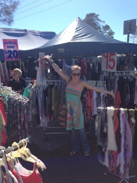 Fishermans Road markets, Sunshine Coast, food, fun, fashion