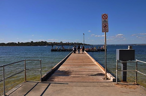 fishing, mosman park, jetty