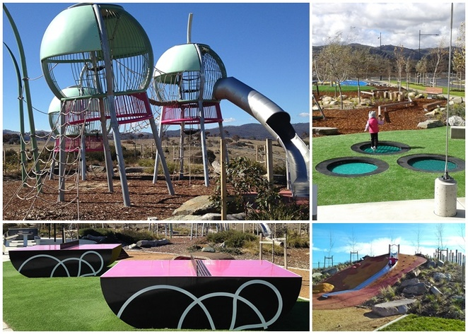 googong playgrounds, queanbeyan, ACT, parks, kids, families, things to do, drives, day trips, canberra,