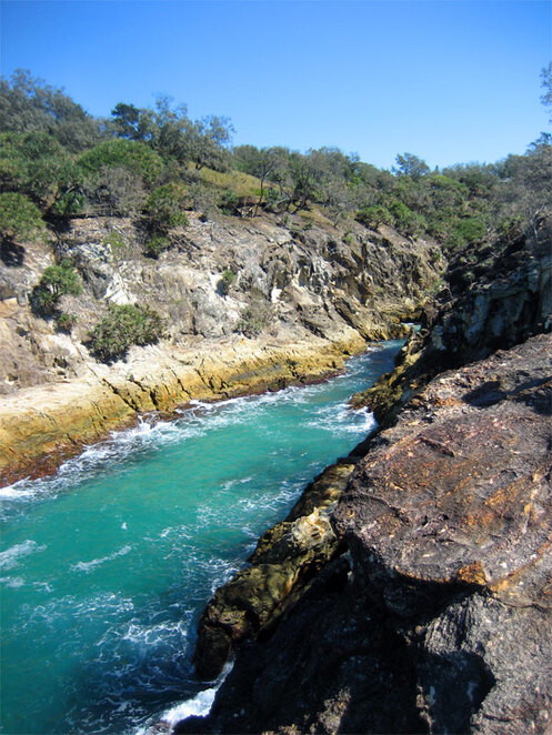 The Gorges Walk is one of many great attractions on North Stradbroke Island