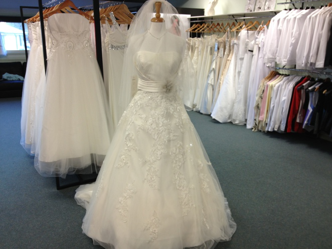 Half price wedding gowns