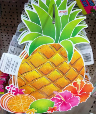 hawaiian party, pineapple, decorations, party decorations
