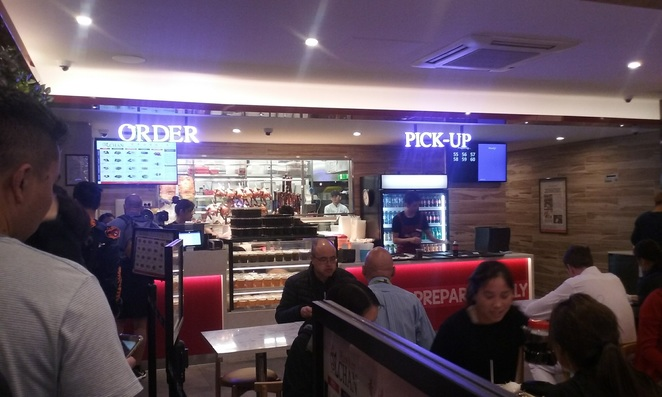 Hawker Chan Counter and Pick-up Lonsdale Street Melbourne