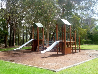 hopeville park hornsby play equipment slides