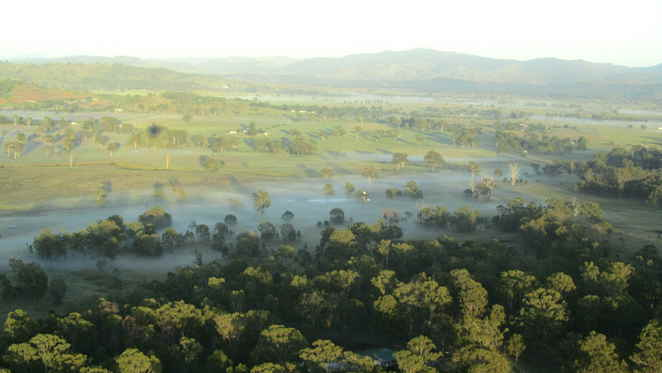 Hot Air Balloon, ballooning, Gold Coast, Beaudesert, Brisbane, mist