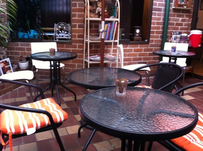 Jane Eyre Cafe, outdoor seatings