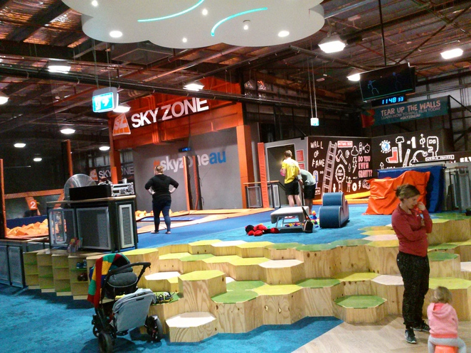 skyzone, belconnen, canberra, trampoline centre, ACT,