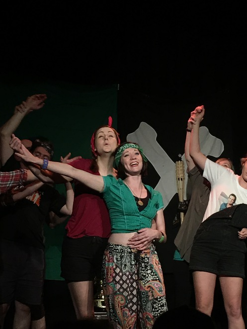 Improvisation, improvised musical, comic improvisation, audience participation, comedy festival, cheap entertainment, Performing arts show, Australian comedy show, The big hoo haa,