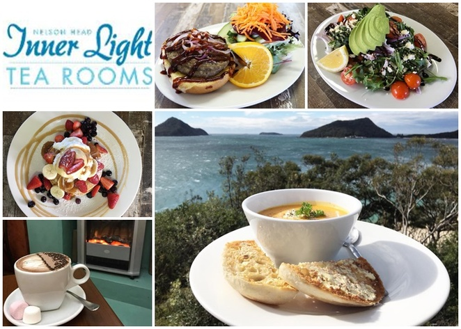inner light tearooms, cafe, breakfast, lunch, nelson bay, shoal bay, best views, lookout, whale watching, best cafes in nelson bay, port stephens, NSW,