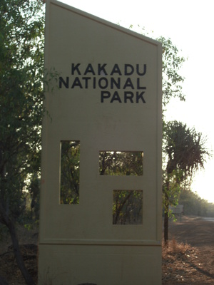 Kakadu National Park Entrance
