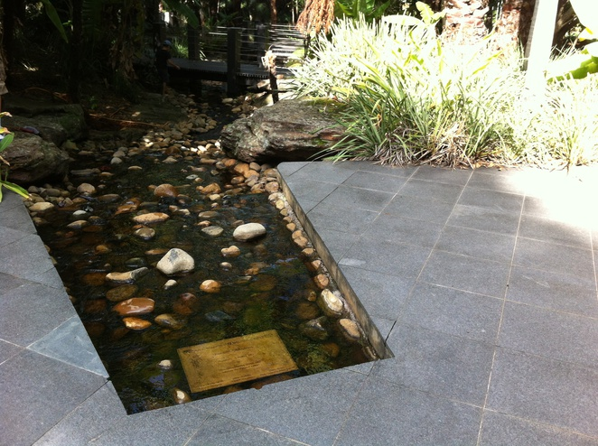 Kokoda Track Memorial Walkway-centerpiece of walkway