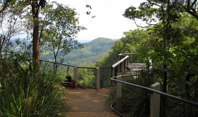 South East Queensland has many lookouts, waterfalls and other scenic spots to visit