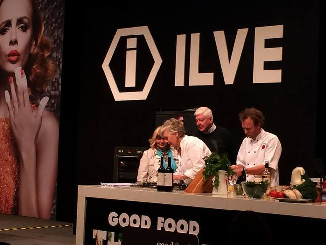 maggie beer at good food & wine show in perth