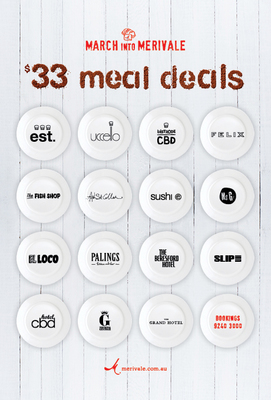 March into Merivale meal deals
