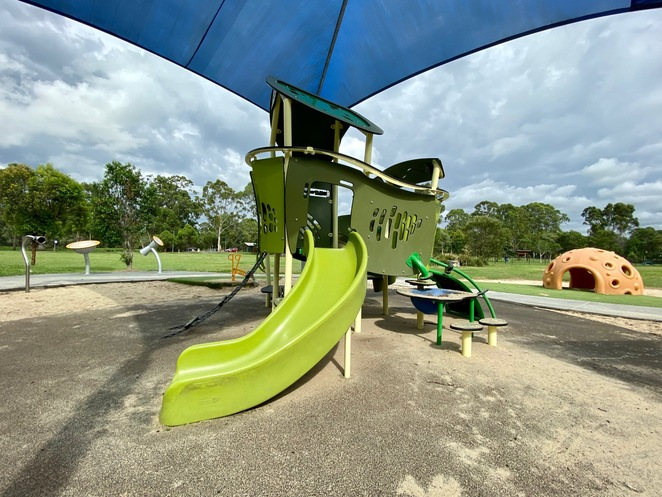 Young children's playground at Mount Cotton Community Park