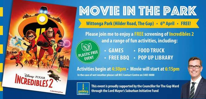 Movies, Fun For Children, Free, Family, Parks, Outdoors, Near Brisbane, The Gap